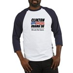 Clinton/Obama '08: We are the future Baseball Jers