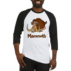 Cute Mammoth Baseball Jersey