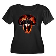 Hades, the god of the dead, Iconic logo (women)