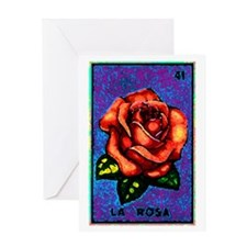 La Rosa Greeting Card