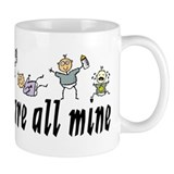 All Mine (6 Kids) Mug