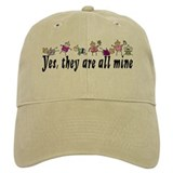 All Mine (7 Kids) Baseball Cap