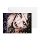 Gothic Girl Greeting Cards (Pk of 20)