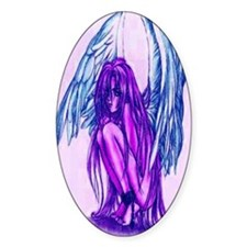 Captured Fairy Oval Decal