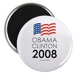 Obama / Clinton 2008 2.25
