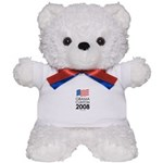 Obama / Clinton 2008 Teddy Bear