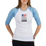 Obama / Clinton 2008 Jr. Raglan