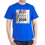 Obama / Clinton 2008 Dark T-Shirt