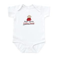 Santa Define Good Infant Bodysuit