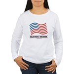 Clinton / Obama 2008 Women's Long Sleeve T-Shirt