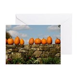Pumpkins on Parade Greeting Cards (Pk of 10)