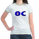 I Love OC Jr. Ringer T-Shirt