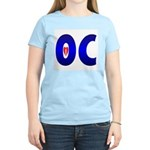 I Love OC Women's Pink T-Shirt