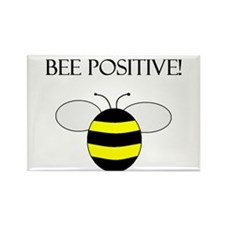 BEE POSITIVE Rectangle Magnet (100 pack)