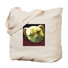 Bullmastiff at Rest Tote Bag