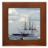 Old Ironsides Framed Tile