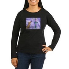 """""""Stop and Smell the Roses"""" Women's Long Sleeve T"""