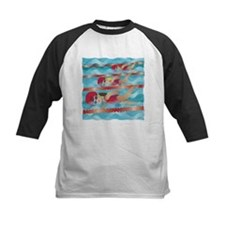 Little Swimmer Girls Tee