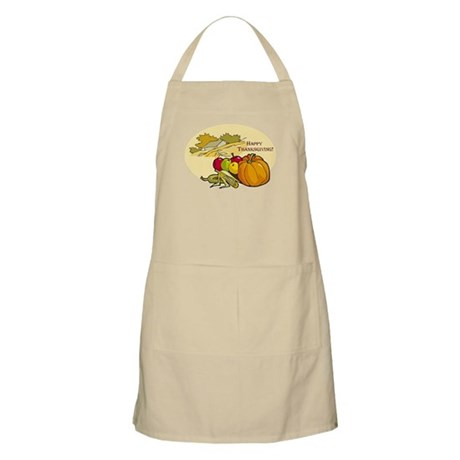 Happy Thanksgiving BBQ Apron
