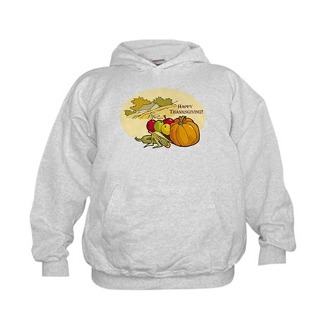 Happy Thanksgiving Kids Hoodie