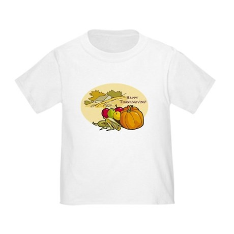 Happy Thanksgiving Toddler T-Shirt