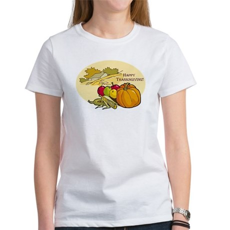 Happy Thanksgiving Women's T-Shirt
