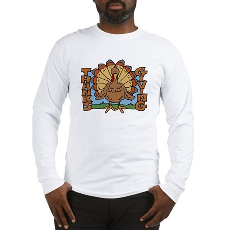 Thanksgiving Turkey Long Sleeve T-Shirt