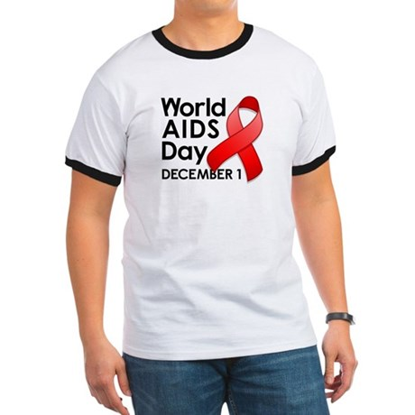 World AIDS Day Ringer T