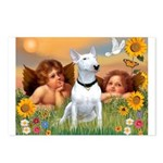 Cherubs / Bull Terrier Postcards (Package of 8)