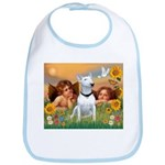 Cherubs / Bull Terrier Bib