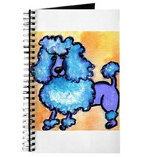 """Puffy Blue Poodle"" Journal"