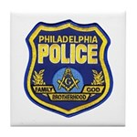 Philly PD Masons Tile Coaster