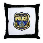 Philly PD Masons Throw Pillow