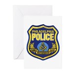 Philly PD Masons Greeting Cards (Pk of 10)