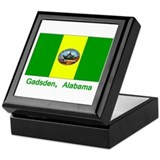 Gadsden AL Flag Keepsake Box