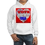 Vote Just Do It USA Hooded Sweatshirt