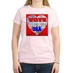 Vote Just Do It USA Women's Light T-Shirt