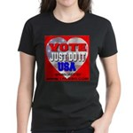 Vote Just Do It USA Women's Dark T-Shirt