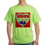 Vote Just Do It USA Green T-Shirt