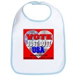 Vote Just Do It USA Bib