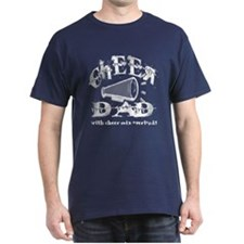 Cheer Dad with Cheer Mix Over T-Shirt