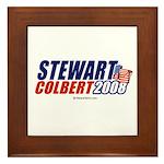 Stewart / Colbert 2008 - Framed Tile