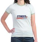 Stewart / Colbert 2008 - Jr. Ringer T-Shirt