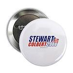 Stewart / Colbert 2008 - Button