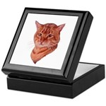 Bengal Tabby Cat Keepsake Box