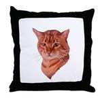 Bengal Tabby Cat Throw Pillow