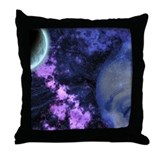 """Dreams under moon "" Beautiful Throw Pillow"