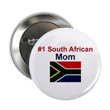 "S Africa-#1 Mom 2.25"" Button"