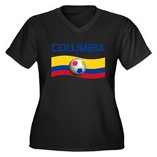 TEAM COLUMBIA WORLD CUP Women's Plus Size V-Neck D