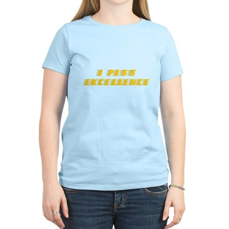 I Piss Excellence Womens Light T-Shirt